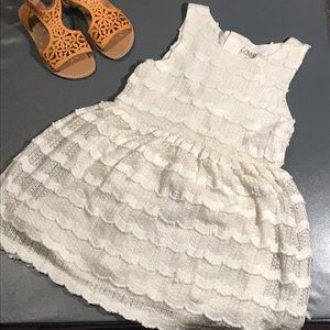 Genuine Kid OshKosh 5T lace dress lined